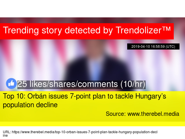 Top 10: Orbán issues 7-point plan to tackle Hungary's